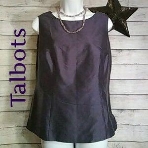 Talbots Silk Sleeveless Top